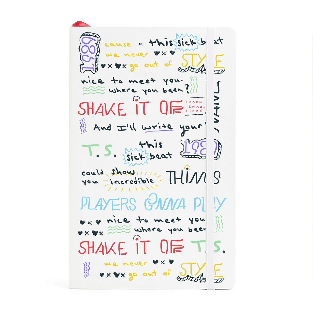 Taylor Swift - Nhật Ký Shake It Off T.S. 1989 Song Lyrics Journal - 3595775 , 1241948462 , 322_1241948462 , 10000000 , Taylor-Swift-Nhat-Ky-Shake-It-Off-T.S.-1989-Song-Lyrics-Journal-322_1241948462 , shopee.vn , Taylor Swift - Nhật Ký Shake It Off T.S. 1989 Song Lyrics Journal