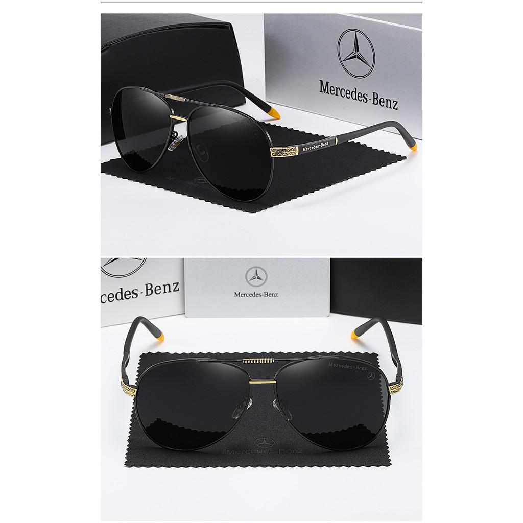 Kính Mát Lái Xe Chống Tia Uv400 Mercedes-Benz 616