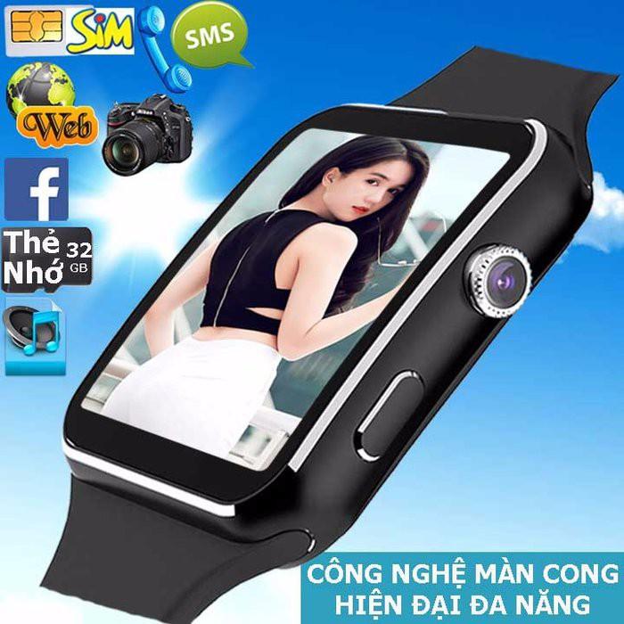 Đồng hồ thông minh X6 màn hình cong Cao cấp(đen) - 3095241 , 511292604 , 322_511292604 , 259000 , Dong-ho-thong-minh-X6-man-hinh-cong-Cao-capden-322_511292604 , shopee.vn , Đồng hồ thông minh X6 màn hình cong Cao cấp(đen)