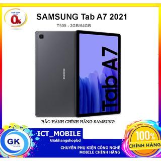 [Nguyên seal] Máy tính bảng Samsung Galaxy Tab A7 (3GB/64GB) SM-T505 – Hàng chính hãng
