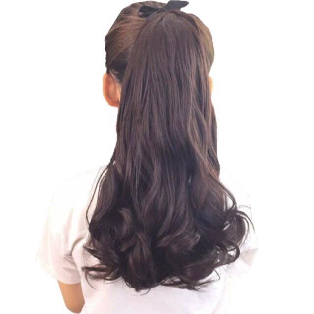 Tóc giả nữ đẹp ❤️💕 FREESHIP❤️💕 tóc cột xoăn 40cm