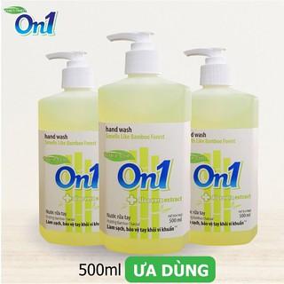 Nước rửa tay sạch khuẩn On1 500ml hương BamBoo Charcoal - RT504-4