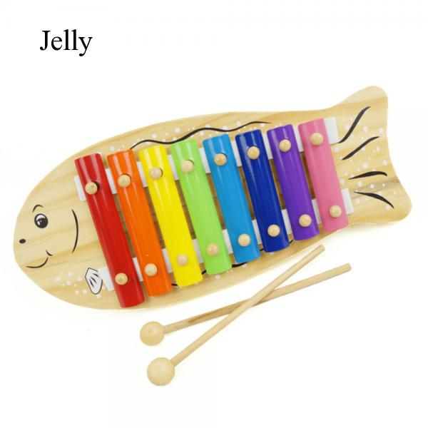 Kids Baby Wooden Musical Educational Xylophone Instrument Toy for 12 Months J890