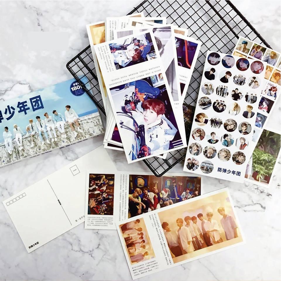 Hộp Postcard BTS - Season Greeting 2018 (có nhiều mẫu Kpop)