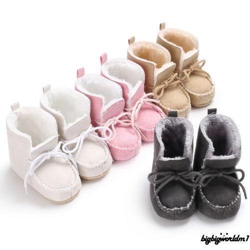 Giày boot mềm mại chống trượt cho bé