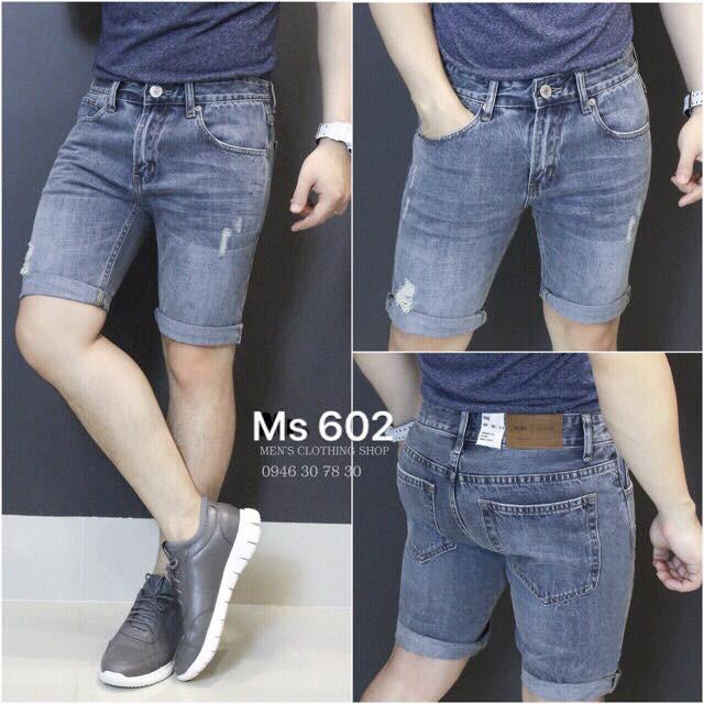 quần short jean nam NG602 nhiều mẫu