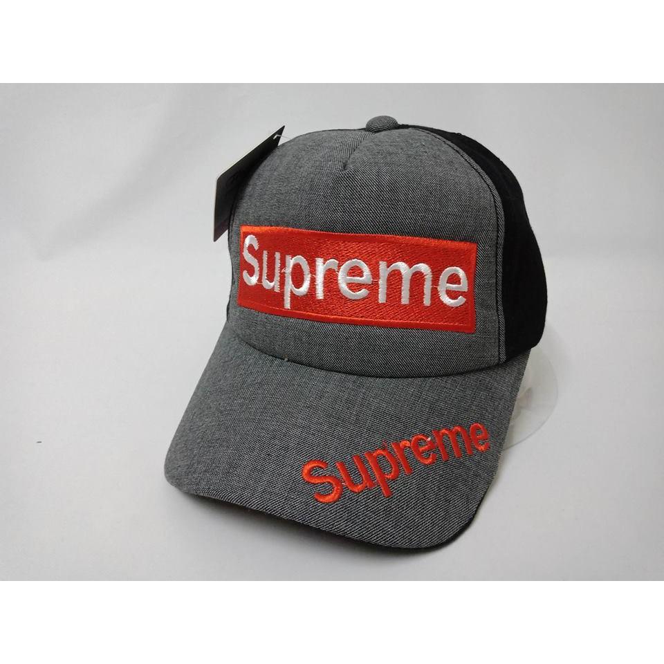 Mũ lưỡi trai SUPREME vải mẫu mới