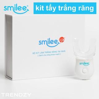 [Full Quà🎁 + Freeship + ⚡25%] Bộ kit tẩy trắng răng Smilee – Tự làm trắng răng tại nhà chỉ 20 phút – Nhập khẩu Mỹ