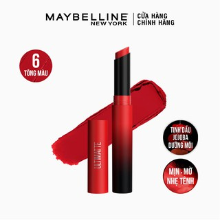Son Lì Mịn Môi Siêu Nhẹ Cao Cấp Maybelline New York Color Sensational Ultimatte 1.7g thumbnail