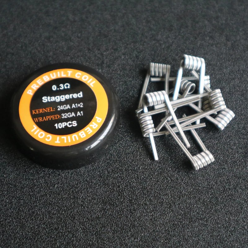 Premade Coil Coils core Super Clapton/Juggernaut /Staggered /Hero Alliance/Half Staggered Fused Clapton for Vape DIY RDA