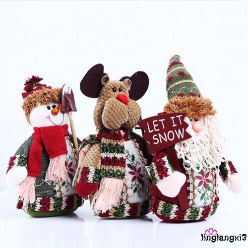 GI.-Cute Snowman Santa Claus Home Decor Door Hanging Christmas Tree Ornaments