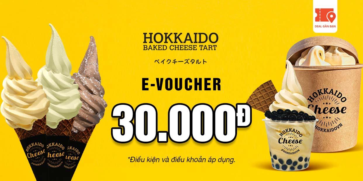 E-Voucher Hokkaido Baked Cheese Tart trị giá 30.000đ