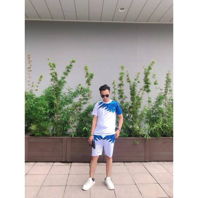 Bộ Hè Nam Cánh Chim 2 Màu - Set quần áo mặc nhà nam
