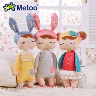 Búp bê thỏ Metoo chính hãng, quà tặng cho bé yêu