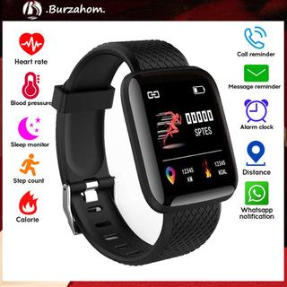 Bộ Vòng Đeo Tay Thông Minh Bluetooth 4.2 116plus Theo Dõi Sức Khỏe Kèm Phụ Kiện