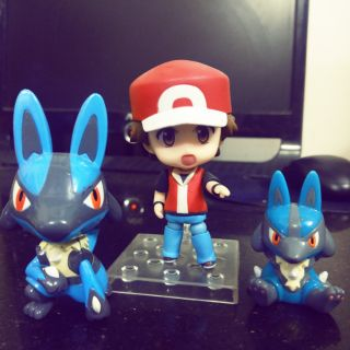Mô hình pokemon_Nendoroid Trainer Red