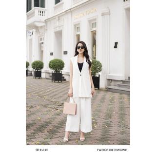 Áo ghi lê trắng Elise thumbnail