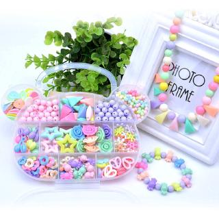 DIY Beaded Material Children's Educational Toys Bear Handmade Material Set Girl Toys