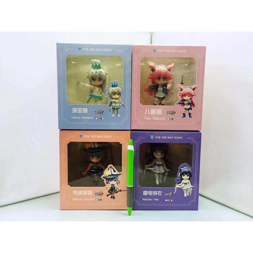 Set 2 Mô Hình Nhân Vật Anime 4 Kiểu