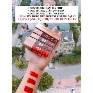 [Có Quà Tặng] Son Kem Black Rouge Ver 7 A33,A34,A35,A36,A37 Handmade Đẹp Lì Thơm