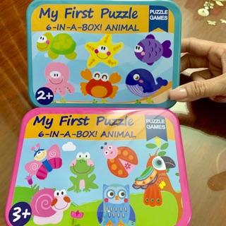 Bộ xếp hình cho bé 2-5 tuổi