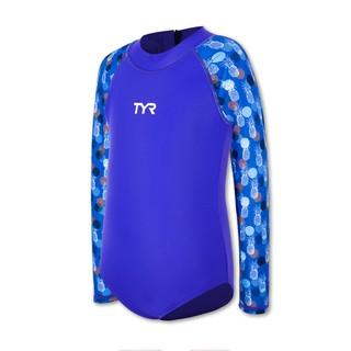 [Mã KIDMALL15 hoàn 15% xu đơn 150K] Đồ bơi chống nắng trẻ em TYR Colette Girl s Zip Suit