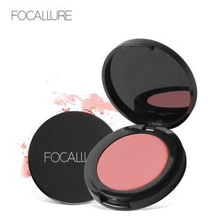 Phấn má hồng FOCALLURE trang điểm tự nhiên 11 màu tùy chọn 3.5g