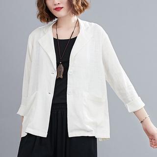 Đầm Cotton Dài Tay Size Lớn Xinh Xắn Dành Cho Nữ