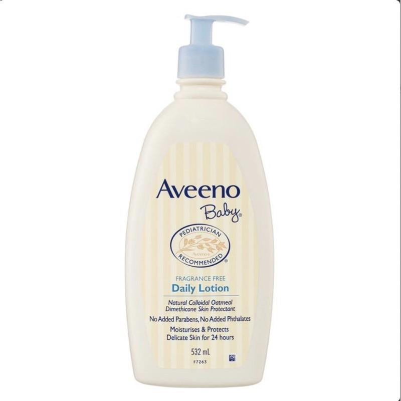 Kem dưỡng ẩm toàn thân Aveeno Baby 532ml cho bé
