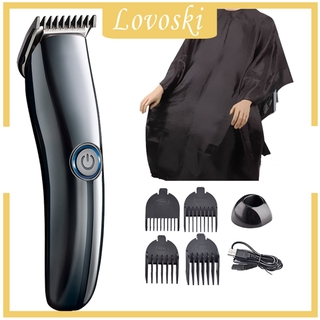 [LOVOSKI]Cordless USB Rechargeable Hair Clipper with Low Noise for Home Salon Baby