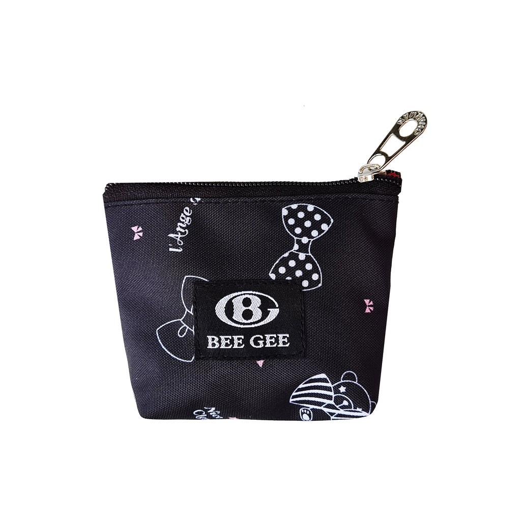 Bóp ví cầm tay nữ mini đựng mỹ phẩm và tiền lẻ BEE GEE QT03 dễ thương siêu Āc