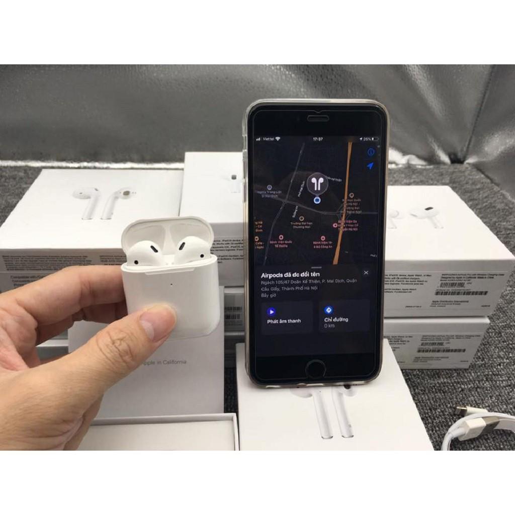 AIRPOD 2 TẶNG VỎ BỌC XỊNTai Nghe Bluetooth Phiên Bản Cao Cấp Nhất - Dùng Cả IOS Và Android- BAỎ HÀNH 6 THÁNG 1 ĐỔI 1