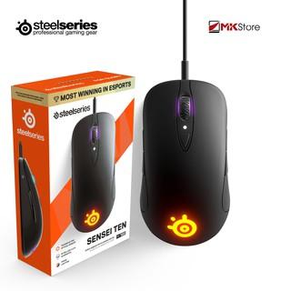[Mã ELMSHX hoàn 8% xu đơn 500K] Chuột chơi game Steelseries Sensei Ten Wired Ambidextrous Gaming Mouse 18.000 CPI thumbnail