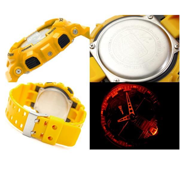 Đồng hồ nam dây nhựa G-SHOCK Casio chính hãng Anh Khuê GA-100A-9ADR