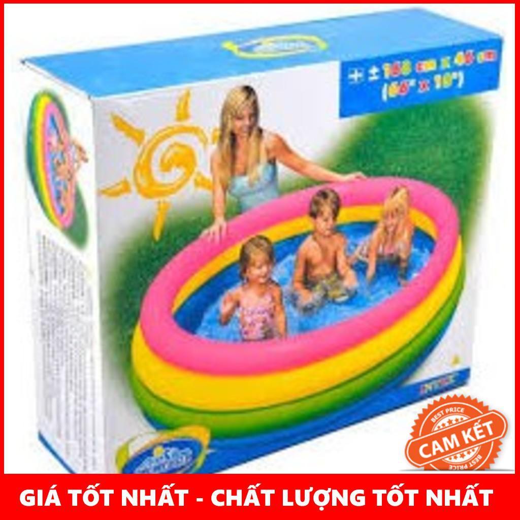 [Giá Rẻ Nhất] Bể bơi phao 4 tầng Intex 56441 cho bé