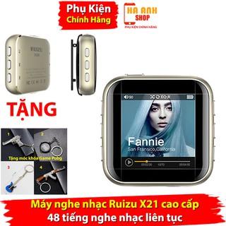 Máy nghe nhạc Ruizu X21 cao cấp,vỏ kim loại nguyên khối, pin khỏe nghe 48 giờ liên tục thumbnail
