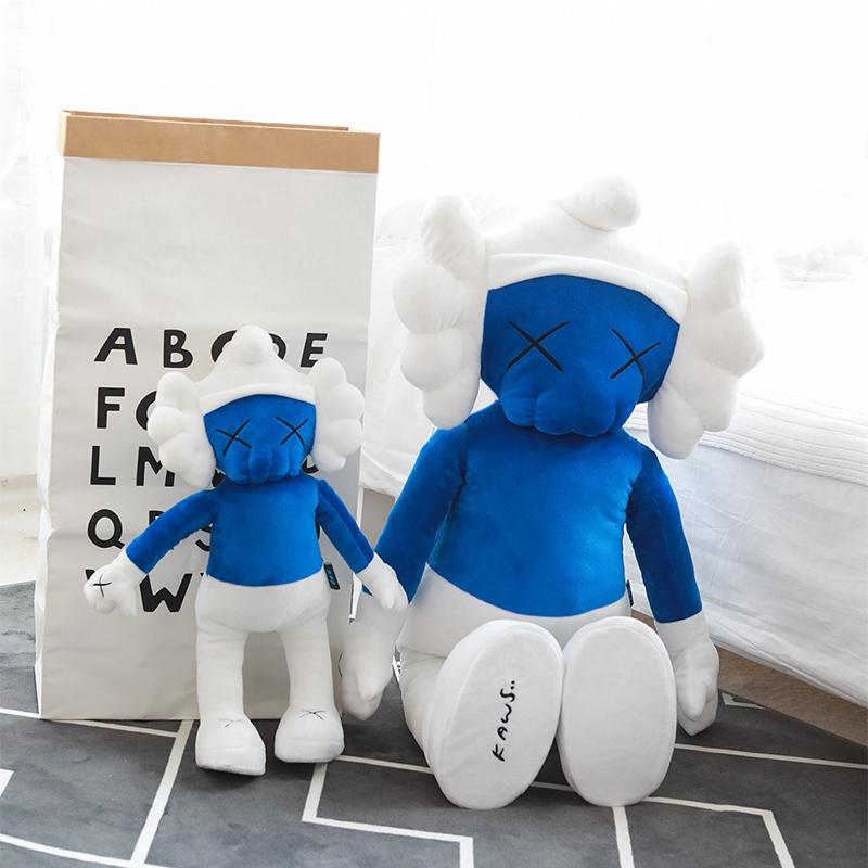 50CM Cute Cartoon The Smurfs And Astro Boy X Kaws Joint Name Stuffed Toys Fashion