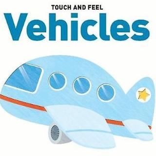 Sách Touch & Feel Board Book Vehicles - Sờ và cảm nhận - Dạy bé về xe cộ thumbnail