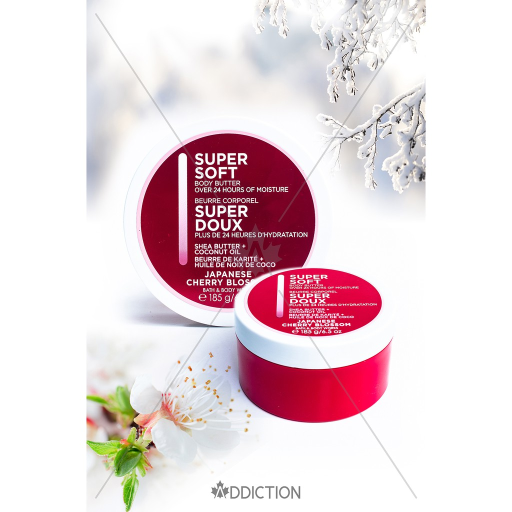Bơ dưỡng thể Body Butter Japanese Cherry Blossom - Bath & Body Works (185g)