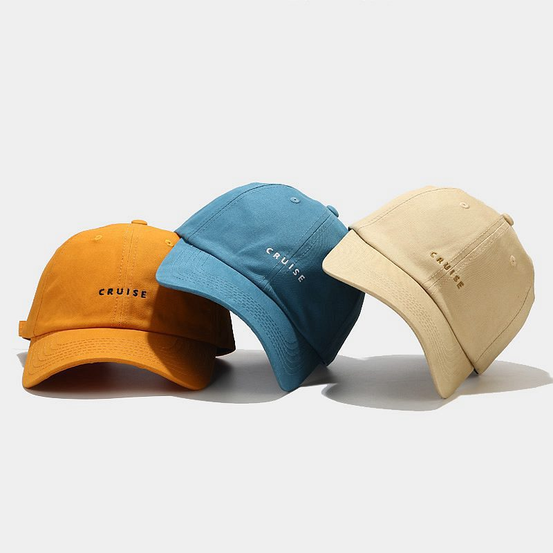 LINJW 2021 New soft Fashion student adjustable cotton baseball cap #2