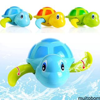 [MU]Turtle Animal Baby Bath Pool Swimming Toy Children Winding Wind-up Toys
