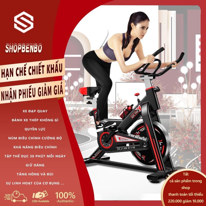 SP08 Xe đạp tập thể dục Air bike(Red)SP08-D