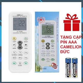 [Siêu Rẻ] Điều khiển điều hòa đa năng K-1028E tặng pin