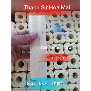 Combo 10 Sứ Thanh Hoa Mai - Size 14x5 - Hàng Loại 1 - Guppy Xanh thumbnail
