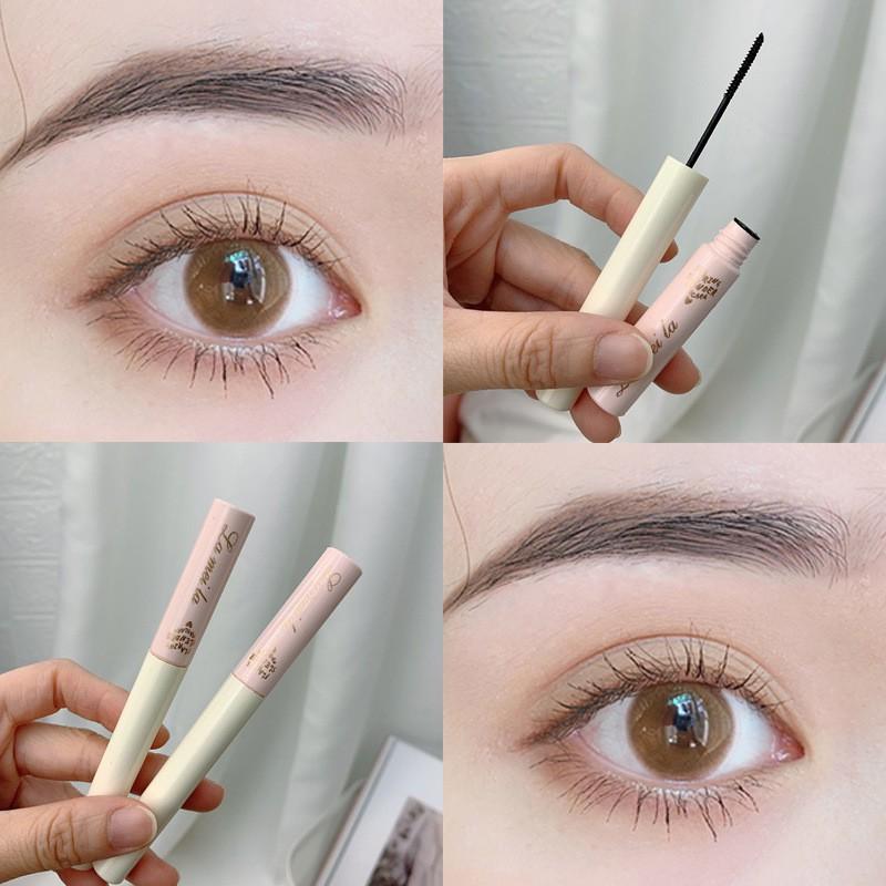 Mascara Siêu Mảnh Tơi Mi Lameila Skinny Microcara Vỏ Hồng | Thế Giới Skin Care