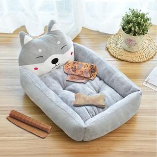 Net người nổi tiếng cũi bốn mùa phổ biến chiến đấu thú cưng thảm nhỏ chó lớn giường mèo để giữ ấm vào đôngthuận tiện thumbnail