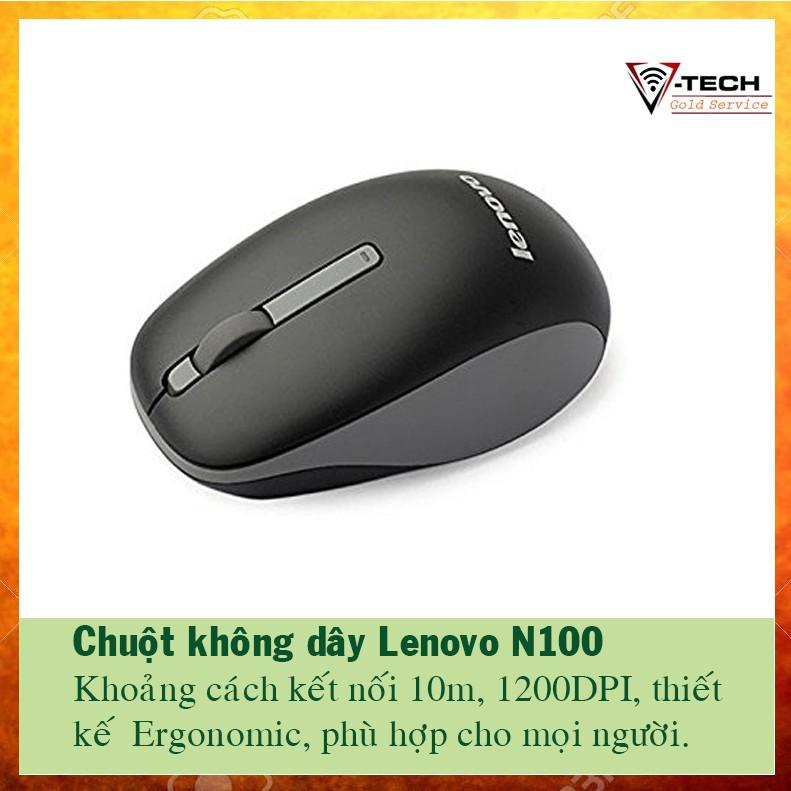 Chuột không dây Lenovo N100 giá sỉ