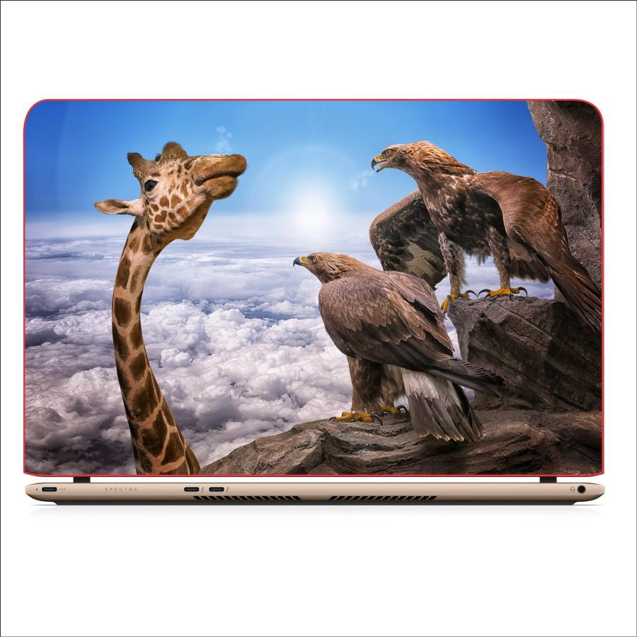 Miếng Dán Decal Laptop Animal - Mã: DCLTDV 347