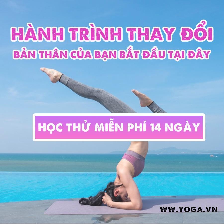 Toàn quốc- [Evoucher]14 ngày học thử YOGA miễn phí tại website Yoga.vn