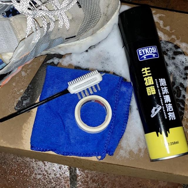 Bộ Vệ Sinh Làm Sạch Giày EYKOSI  FREESHIP ⚡️ Bình Vệ Sinh Giày , Bộ Vệ Sinh Làm Sạch Giày